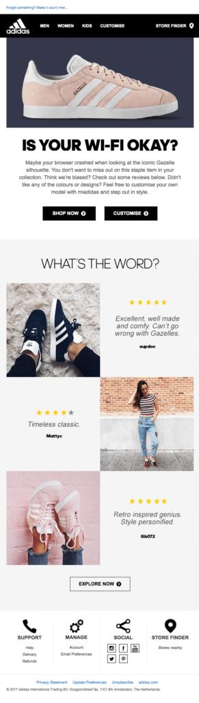 abandon-cart-email-adidas