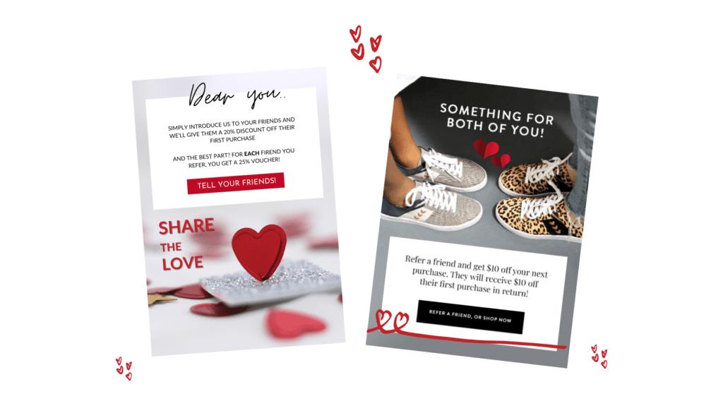 referral marketing alla hjärtans dag