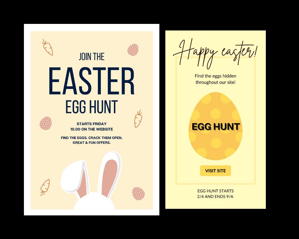 marknadsföringstips inför påsken - egg hunt